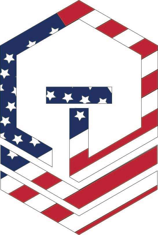 Picture of Tactical Ops Brewing's T-Logo flag color
