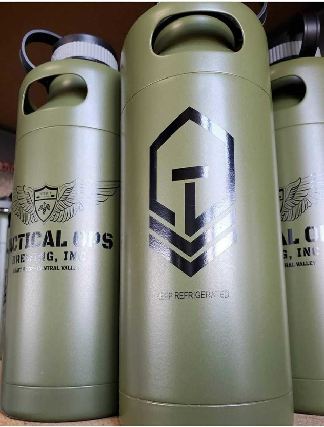 Picture of Tactical Ops Brewing's Stainless Steel Growler